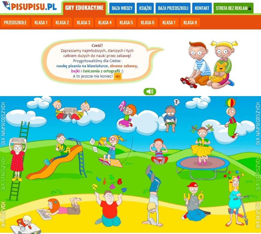 PISUPISU - nauka języka polskiego przez zabawę
