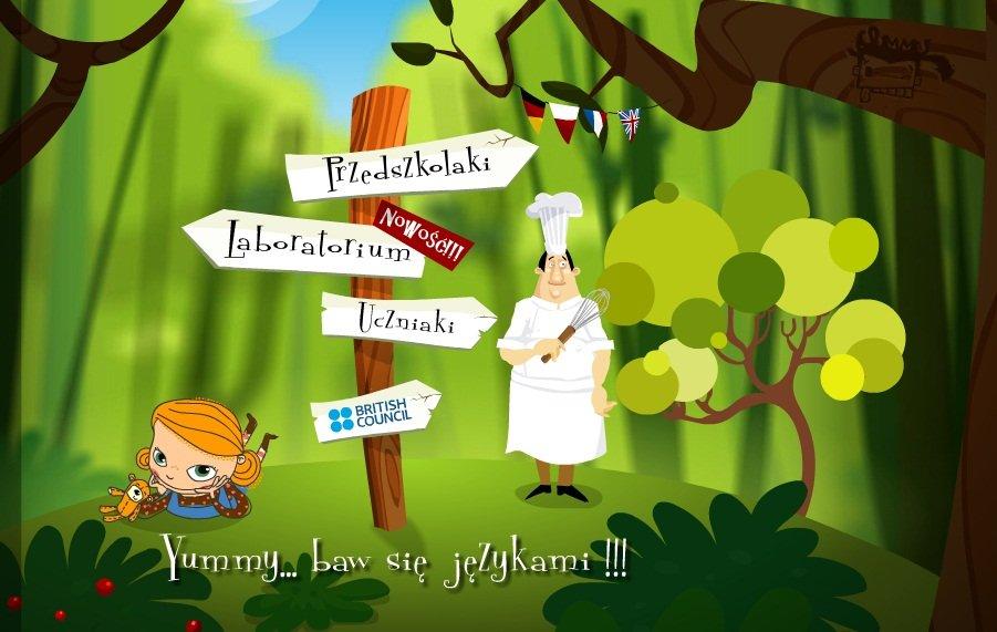 Yummy - nauka angielskiego przez zabawę