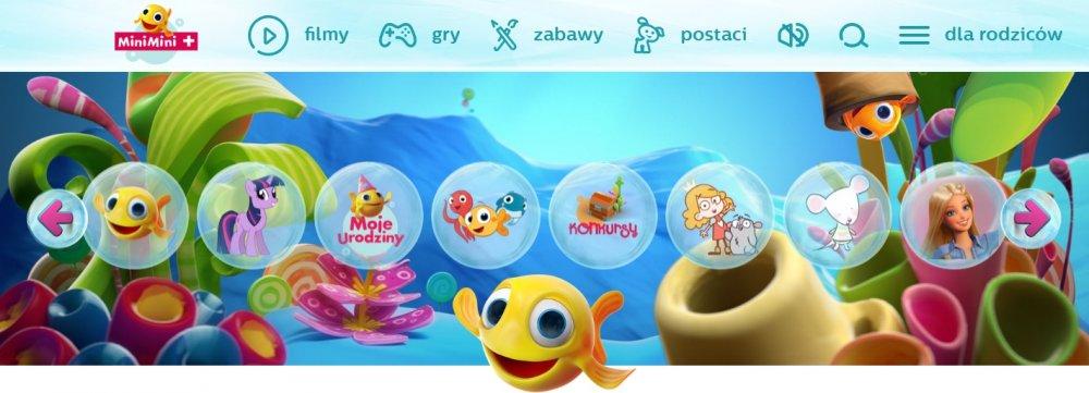Minimini+ - gry dla najmłodszych