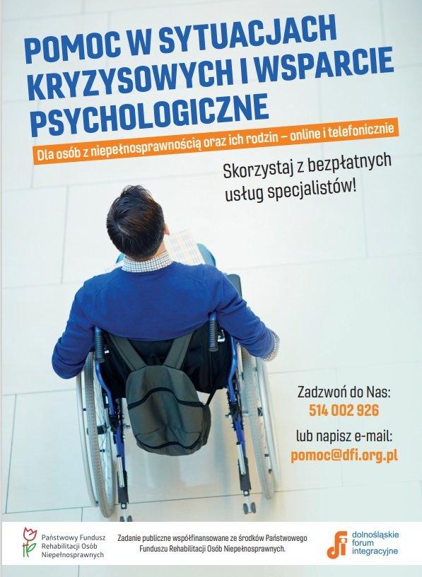 Pomoc wsytuacjach kryzysowych iwsparcie psychologiczne